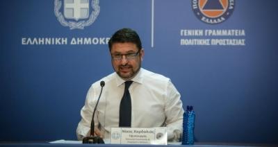 Έκτακτη σύσκεψη για την κατάσταση της πανδημίας στην Κοζάνη συγκάλεσε ο Χαρδαλιάς