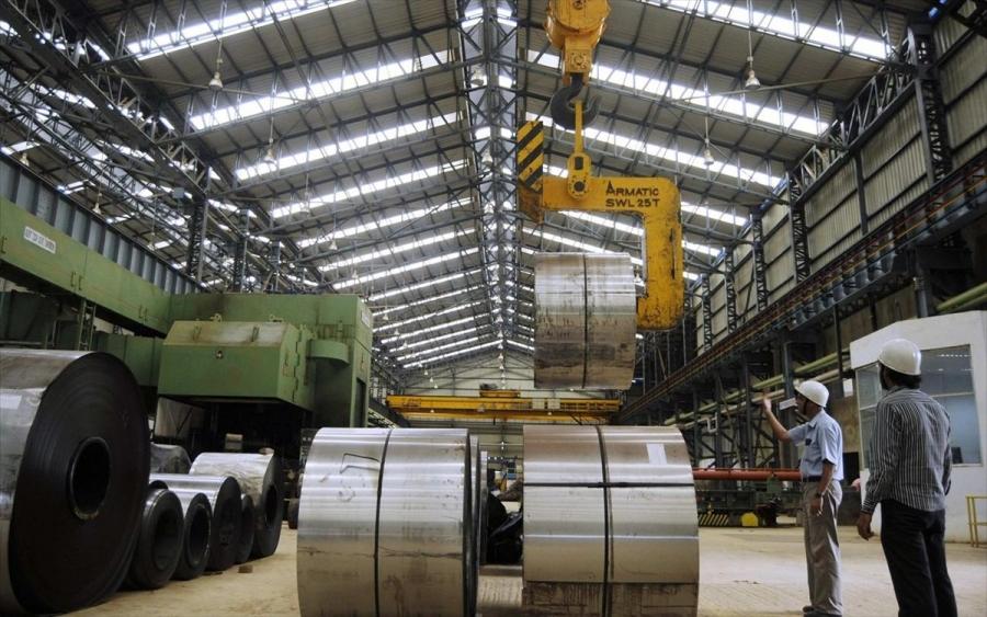 Ετήσια αύξηση 22,5% της βιομηχανικής παραγωγής τον Απρίλιο του 2021