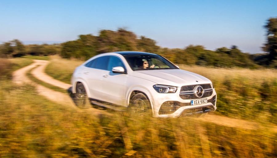 Δοκιμάζουμε τη Mercedes-Benz GLE 350 d 4MATIC Coupe