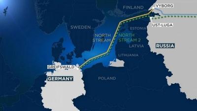 Gazprom: Θα είναι σίγουρα έτοιμος το 2021 ο αγωγός Nord Stream 2