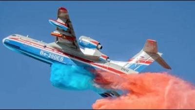 Συνετρίβη ρωσικό πυροσβεστικό αεροπλάνο που επιχειρούσε στις φωτιές στην Τουρκία