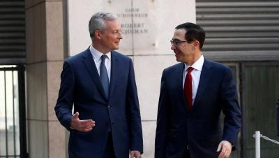 Συμφωνία ΗΠΑ - Γαλλίας για συνομιλίες σχετικά με τον ψηφιακό φόρο, σε επίπεδο ΟΟΣΑ