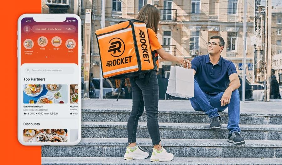 Νέος παίκτης στην ελληνική αγορά delivery η Rocket