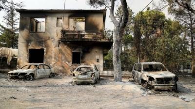 Στη Βουλή οι ΠΝΠ για τις παρεμβάσεις στις πυρόπληκτες περιοχές