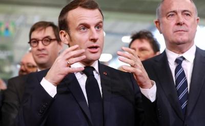 Macron: Αβέβαιη μία εμπορική συμφωνία με τη Βρετανία έως το τέλος του 2020