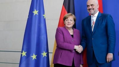 Bild: Με παρότρυνση της Merkel, ο Rama «γεφυροποιός» μεταξύ Ελλάδας και Τουρκίας για τις διερευνητικές