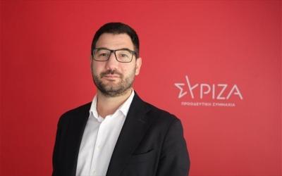 Ηλιόπουλος: Πελώνειο θράσος να κατηγορούν τον Τσίπρα ότι ενθαρρύνει τον αντιεμβολιασμό