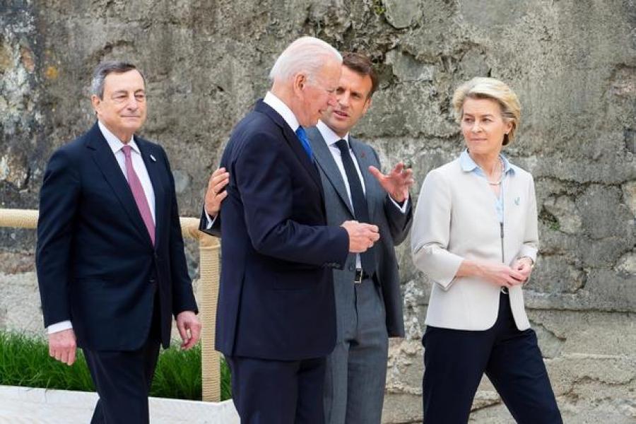 Macron στους G7: Ήρθε ώρα συγκεκριμένων δεσμεύσεων και ανάληψης δράσης