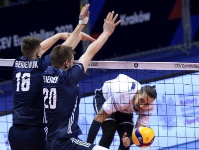 Ευρωπαϊκό πρωτάθλημα βόλεϊ ανδρών: Κοίταξε στα μάτια την Πολωνία η Εθνική, αλλά ηττήθηκε με 3-1 (video)