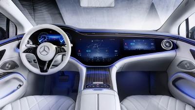 Άκρως εντυπωσιακή η Hyperscreen της ηλεκτρικής Mercedes EQS