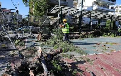 Σε κατάσταση Έκτακτης Ανάγκης κηρύχθηκε ο Δήμος Ηρακλείου Αττικής λόγω της κακοκαιρίας
