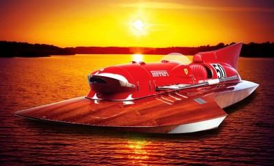 Πωλείται ένα αγωνιστικό σκάφος της Ferrari!