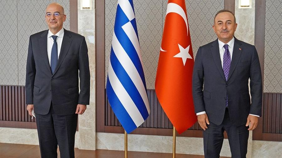 Σύγκρουση Cavusoglu - Δένδια για τις τουρκικές προκλήσεις στο Αιγαίο, τους μουσουλμάνους στη Θράκη και Μεταναστευτικό