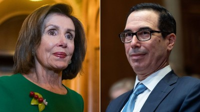 ΗΠΑ: Πυρετός διαβουλεύσεων Pelosi - Mnuchin για το νέο πακέτο τόνωσης της οικονομίας - Χάνεται το ορόσημο των εκλογών 3/11