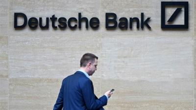 Deutsche Bank: Στο +1,2% η ανάπτυξη στις ΗΠΑ το 20221, στο +7,5% το 2022