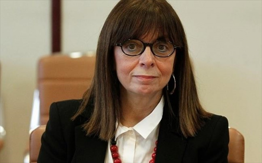 Συνάντηση της Προέδρου της Δημοκρατίας, Κατερίνας Σακελλαροπούλου με δικαστές