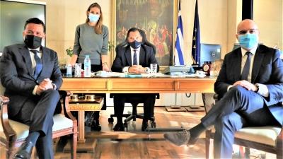 Συνάντηση Γεωργιάδη με εκπροσώπους Louis Vuitton - Συζήτηση για επενδυτικές ευκαιρίες στην Ελλάδα