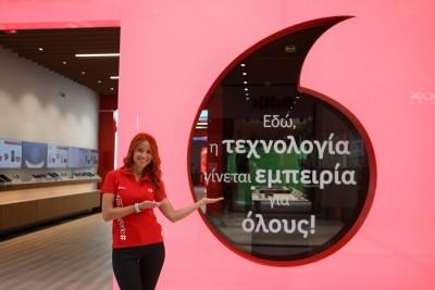 Στην Ελλάδα το πρώτο Future Ready store της Vodafone - Ξεκινήα τη λειτουργία του 24/9 στο The Mall Athens