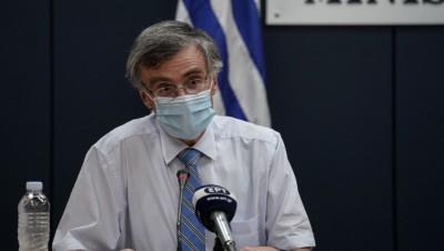 Τσιόδρας: Θέλουμε να αποφύγουμε το lockdown - Η προσωπική επιλογή του καθενός θα καθορίσει το πώς θα κινηθεί η πανδημία