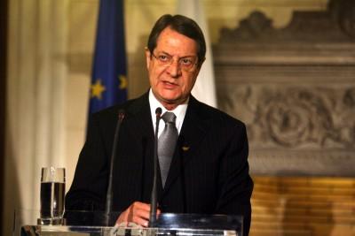 Αναστασιάδης (πρόεδρος Κύπρου): Δεν θα πληρώσουν οι πολίτες το κόστος εκβιασμών