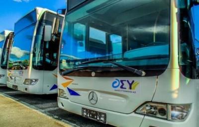 Αθήνα: Ενίσχυση των αστικών συγκοινωνιών από τη Δευτέρα 2/11 - Στους δρόμους πάνω από 100 λεωφορεία των ΚΤΕΛ
