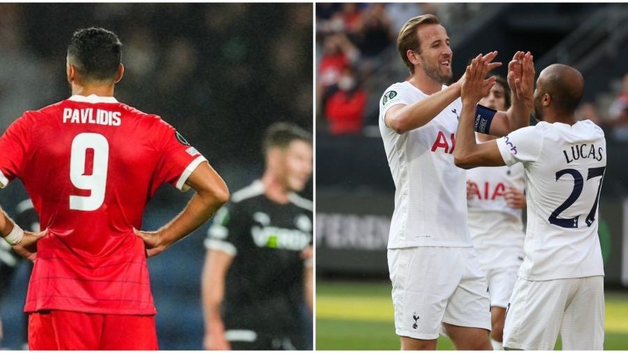 Europa Conference League: «Μπλόκο» στην Γαλλία για Τότεναμ - Σκόραρε ο Παυλίδης για την Άλκμααρ αλλά δεν αρκούσε το γκολ του! (video)