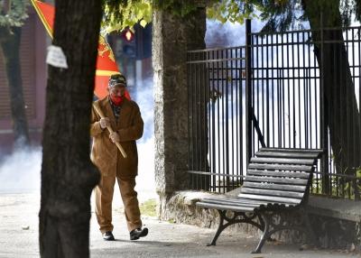 Μαυροβούνιο: Σκηνικό... πολέμου θύμιζε η ενθρόνιση του νέου Μητροπολίτη από τη Σερβική Εκκλησία