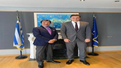 Συνάντηση Κικίλια με τον Πρέσβη των Ηνωμένων Αραβικών Εμιράτων