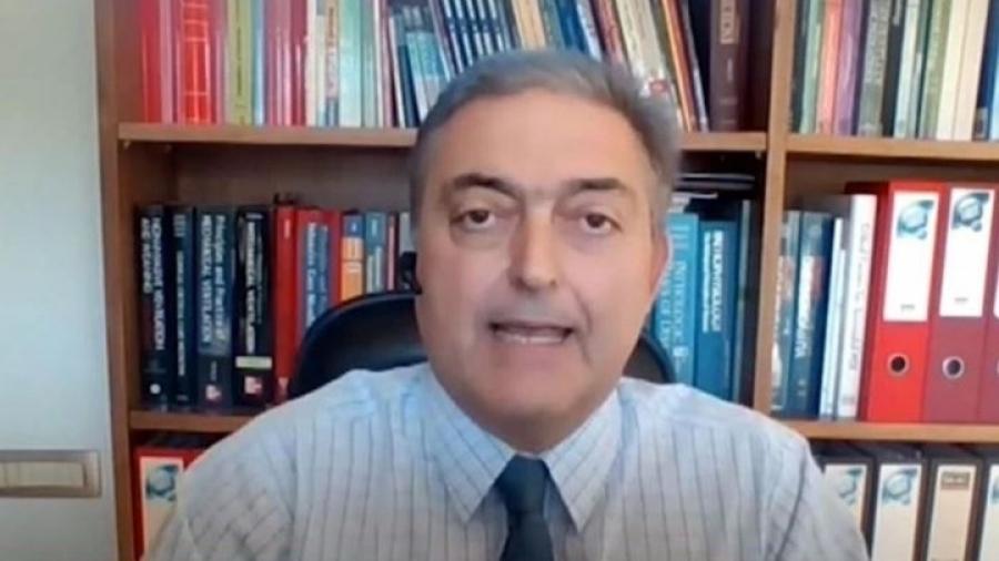 Βασιλακόπουλος: Σίγουρο το 4ο κύμα της πανδημίας - Θα αφορά ανεμβολίαστους