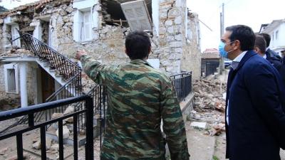Τσίπρας στην Κρήτη: Κρίσιμο να μην ερημώσει η περιοχή – Να σταθεί δίπλα στους σεισμόπληκτους η κυβέρνηση