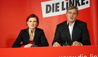 Γερμανία: Επανεξελέγησαν στην ηγεσία της γερμανικής Αριστεράς (Die Linke) οι kipping και Rexinger