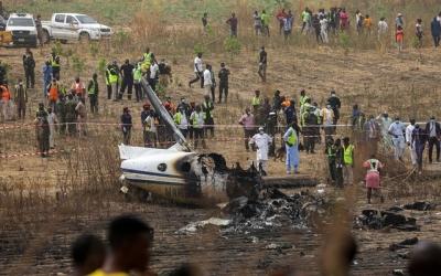 Νιγηρία: Επτά νεκροί από τη συντριβή στρατιωτικού αεροσκάφους