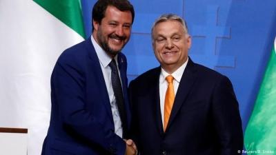 Ουγγαρία: Το κόμμα του Orban αποκλείει συνεργασία με τον Salvini στο Ευρωκοινοβούλιο