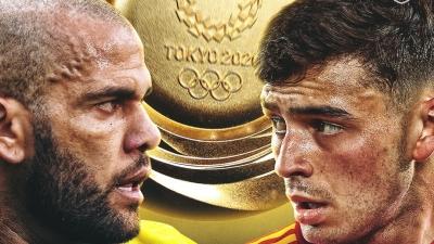 Βραζιλία - Ισπανία, Ολυμπιακοί Αγώνες: Η «τιτανομαχία» του Τόκιο με φόντο το χρυσό μετάλλιο!