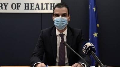 Θεμιστοκλέους: Αρχές Μαΐου θα γνωρίζουμε πότε θα είναι διαθέσιμα όλα τα εμβόλια για τους 40 – 44