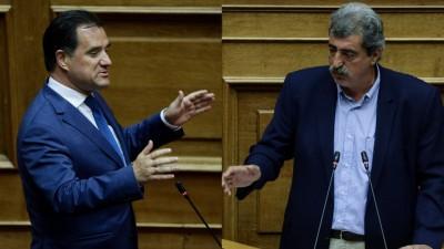 Βουλή: Σφοδρή σύγκρουση Γεωργιάδη - Πολάκη