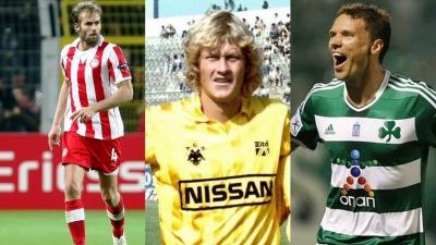 Οι δέκα Σουηδοί που «έλαμψαν» στο ελληνικό ποδόσφαιρο – από τον Άλστρομ και τον Σάντμπεργκ, έως τον Μέλμπεργκ και τον Μπεργκ  (video)