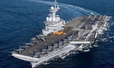 Στην Κρήτη το αεροπλανοφόρο «Charles de Gaulle» για την άσκηση «Clemenceau 2021»