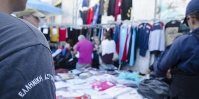 Πρόστιμα 6.500 ευρώ σε επιχείρηση των αρχών για την αντιμετώπιση του παρεμπορίου στο Σχιστό