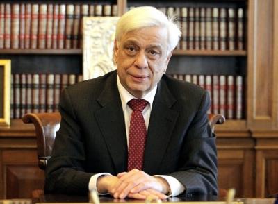 Παυλόπουλος: Το βήμα προς την ολοκλήρωση της Ευρωζώνης θα μένει μετέωρο δίχως ενίσχυση του ρόλου της ΕΚΤ