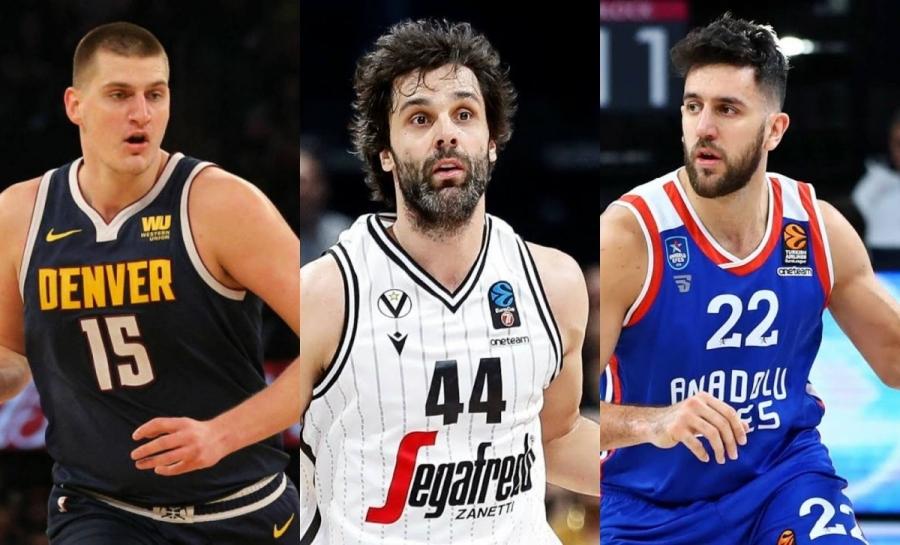 Η Σερβία είχε τον... MVP της σε NBA, Euroleague και Εurocup την ίδια σεζόν! (video)