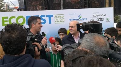 Χατζηδάκης: Η πολιτική για μια πράσινη ανάπτυξη αφορά πρώτα απ' όλα τη νέα γενιά