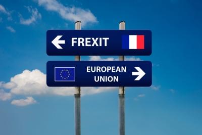 Frexit έως το 2024;  -  Αυξάνονται οι Γάλλοι ψηφοφόροι που ζητούν δημοψήφισμα για την αποχώρηση της Γαλλίας από την ΕΕ