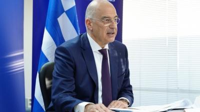 Επαφές Δένδια σε Παλαιστίνη - Συνάντηση με τον πρωθυπουργό για τις εξελίξεις στην περιοχή