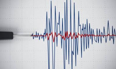 Κρήτη: Ισχυρή σεισμική δόνηση μεγέθους 5,4 βαθμών της κλίμακας Ρίχτερ, ανοιχτά του Ηρακλείου
