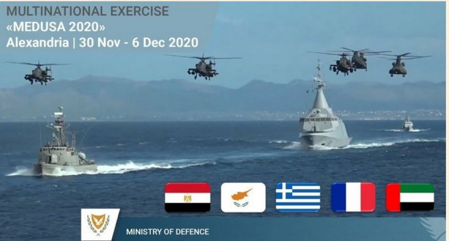 Παρουσία των υπουργών Άμυνας Ελλάδας και Αιγύπτου η τελική φάση της αεροναυτικής άσκησης «ΜΕΔΟΥΣΑ 10»