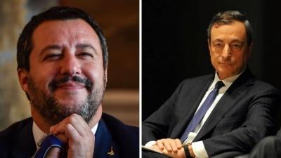 Το οικονομικό μέλλον της Ιταλίας δεν εξαρτάται από τον Draghi, αλλά από τον Salvini