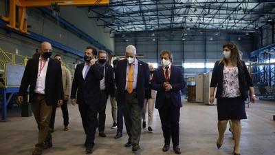 Γεωργιάδης από ΕΛΒΟ: Ένα εργοστάσιο σπουδαίο, που πέρασε σταδιακά σε μεγάλη παρακμή, αναγεννάται