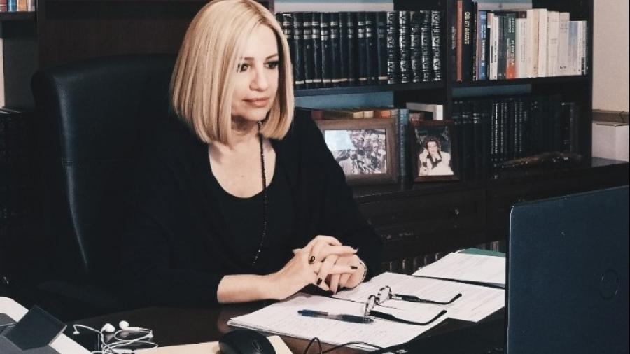 Γεννηματά (ΚΙΝΑΛ): Η κυβέρνηση αφήνει τον εργαζόμενο απροστάτευτο και εκθεμελιώνει το εργατικό δίκαιο