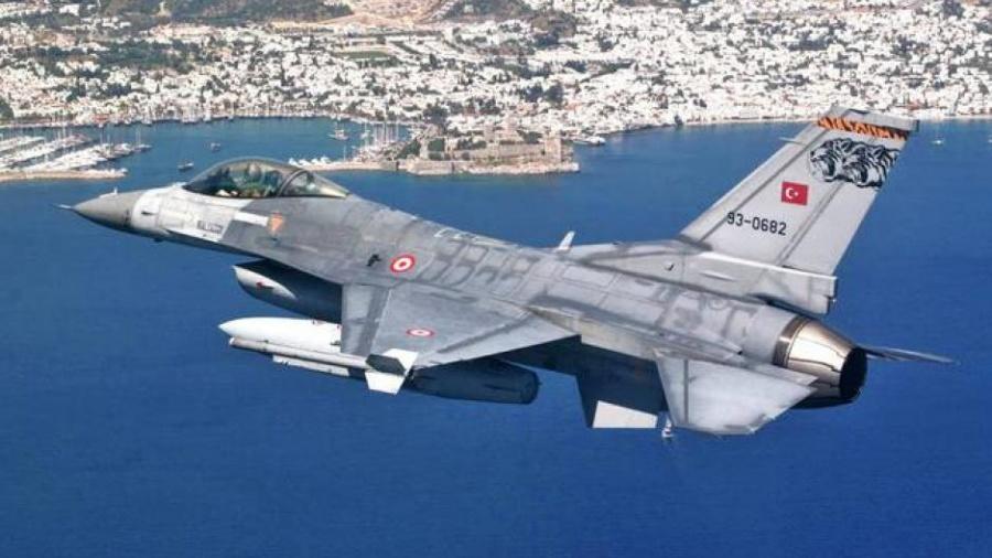 Νέες πτήσεις τουρκικών αεροσκαφών πάνω από Παναγιά και Οινούσες